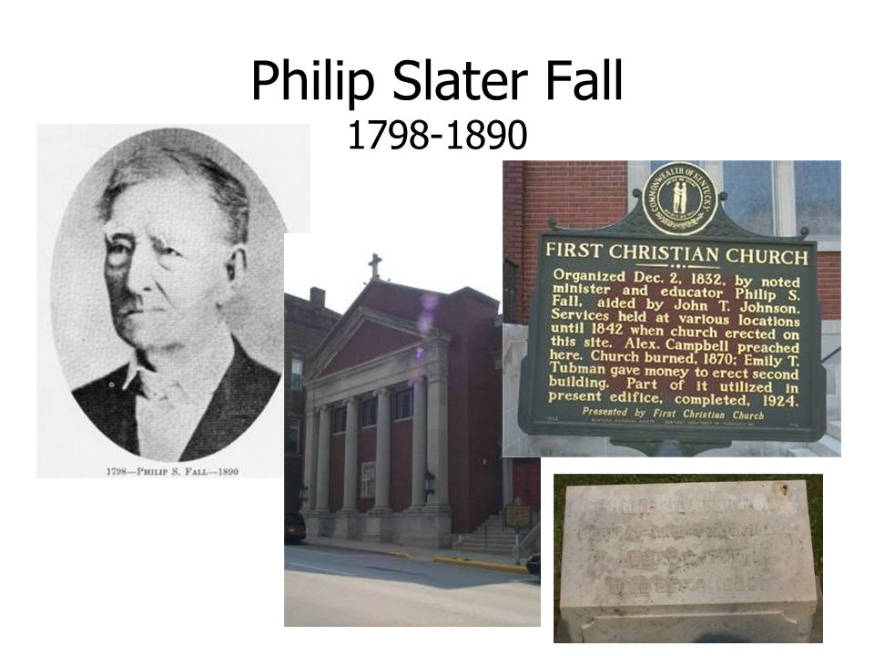 Philip Slater Fall 1798-1890