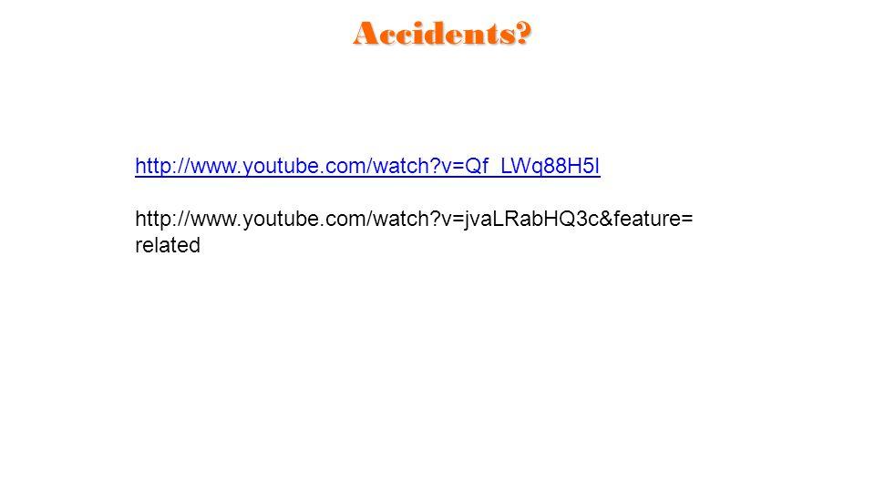 Accidents http://www.youtube.com/watch v=Qf_LWq88H5I