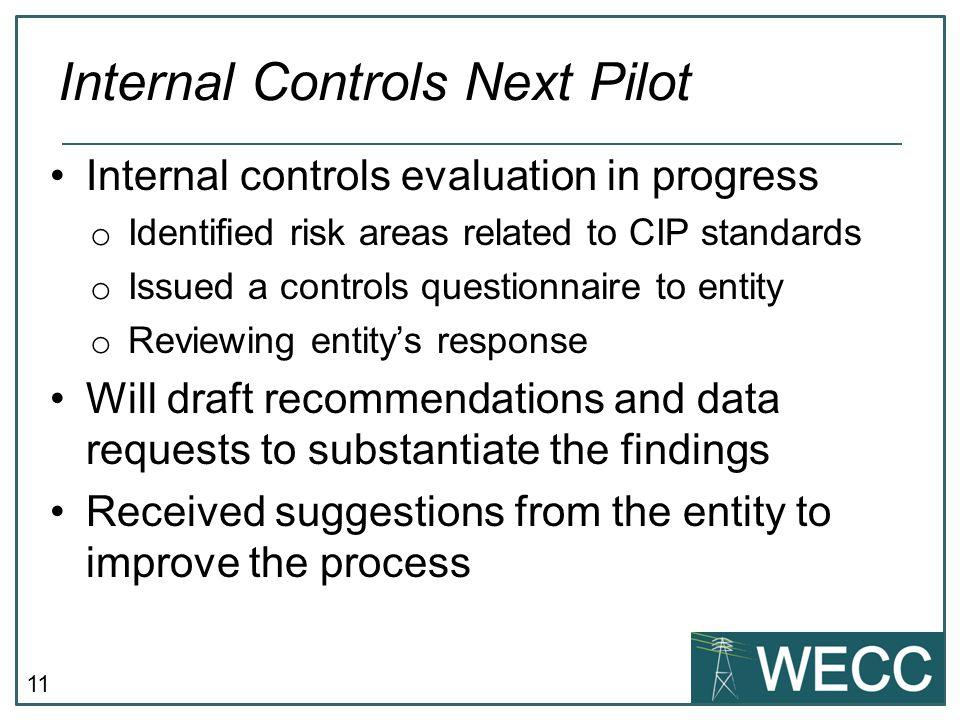 Internal Controls Next Pilot