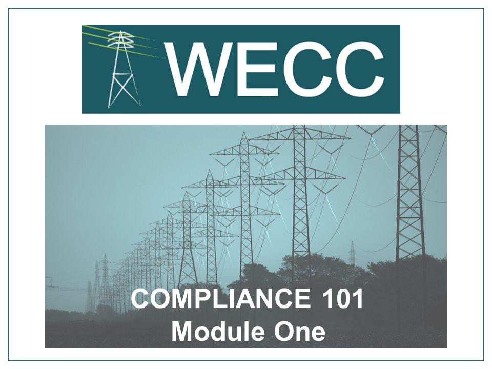 COMPLIANCE 101 Module One
