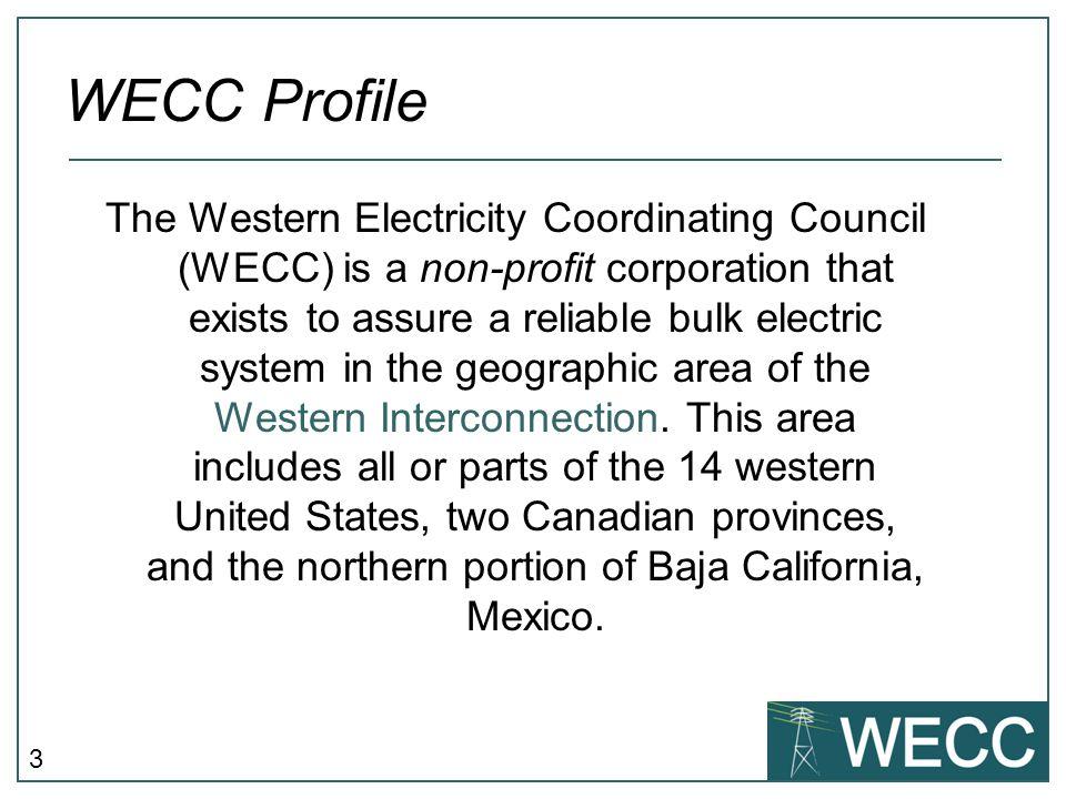 WECC Profile