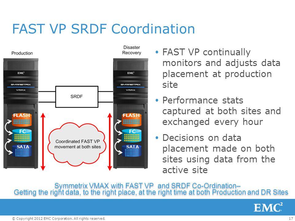 FAST VP SRDF Coordination