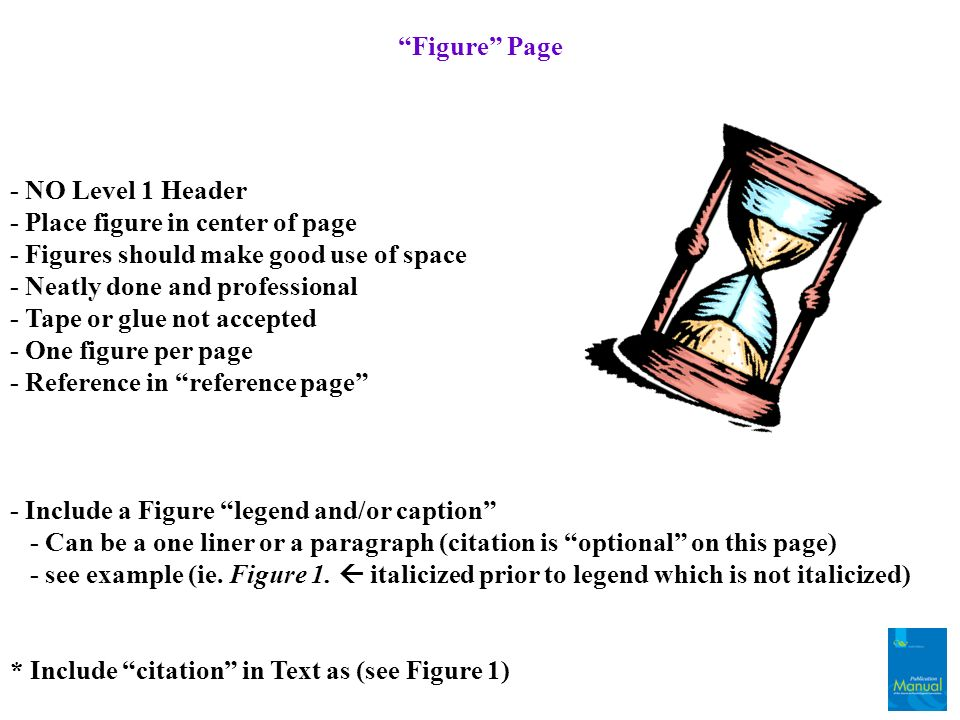 Figure Page - NO Level 1 Header. - Place figure in center of page. - Figures should make good use of space.