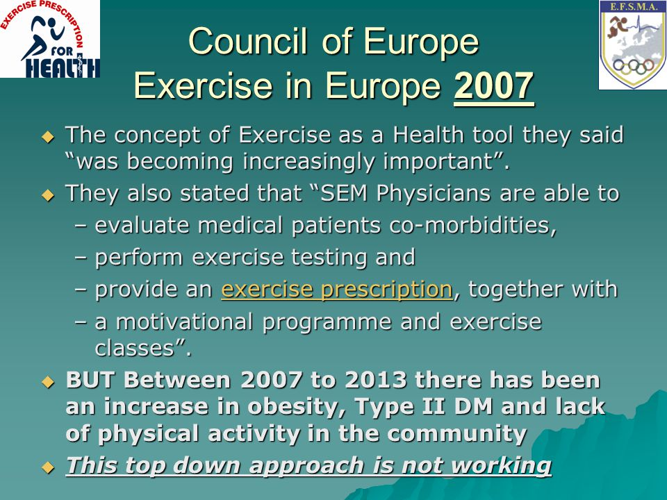 Council of Europe Exercise in Europe 2007