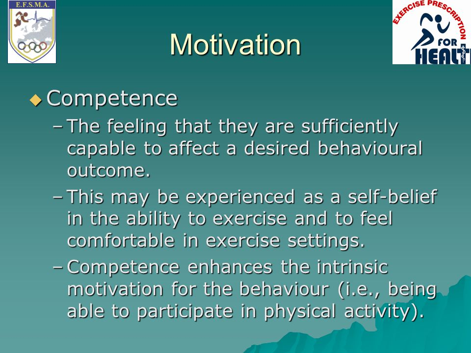 Motivation Competence