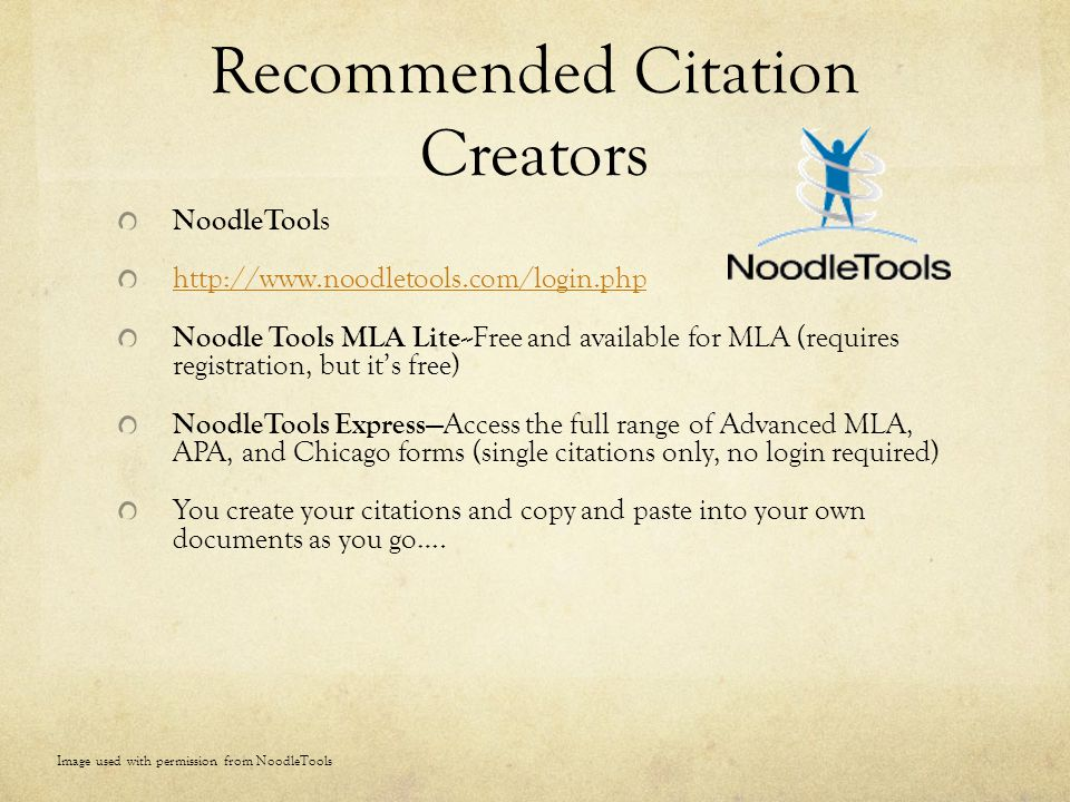 Recommended Citation Creators