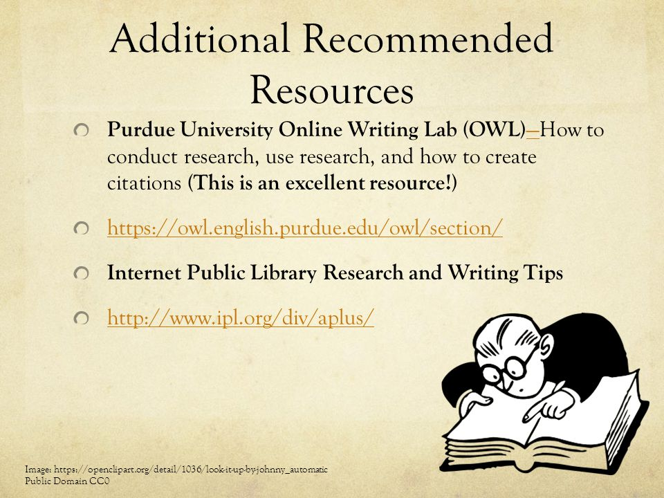 Additional Recommended Resources