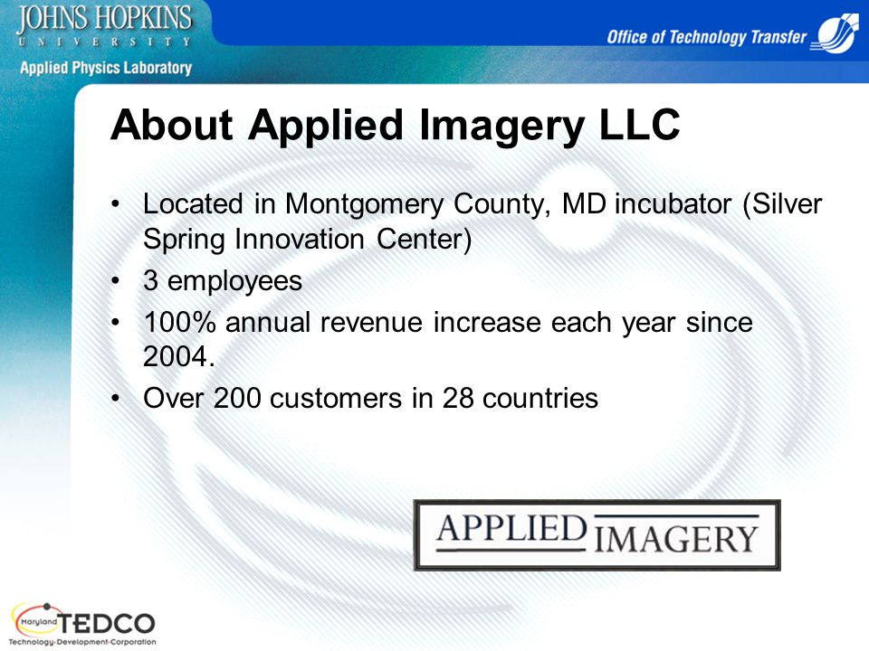 About Applied Imagery LLC