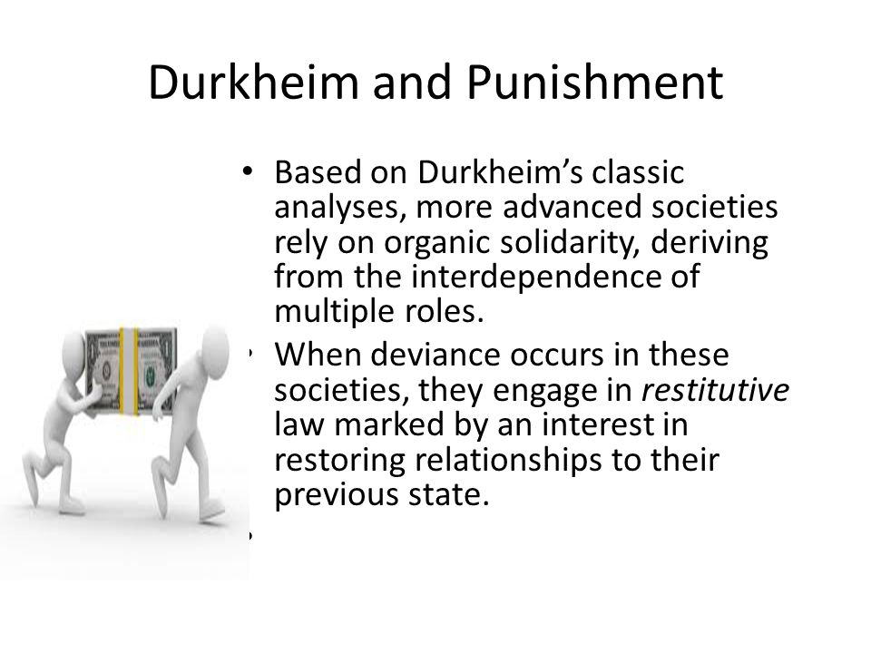 Durkheim and Punishment