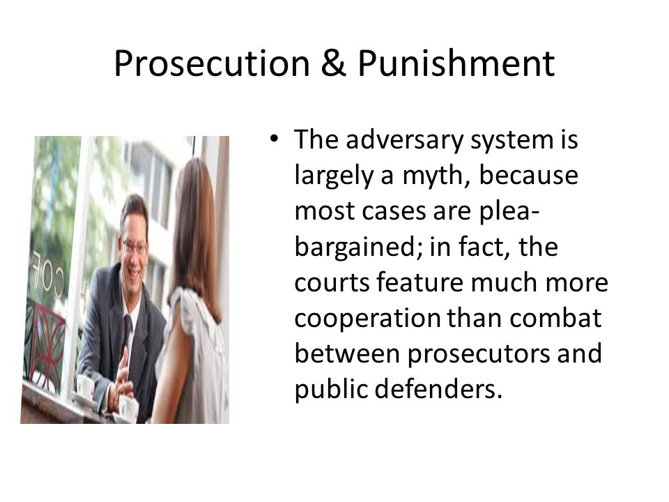 Prosecution & Punishment