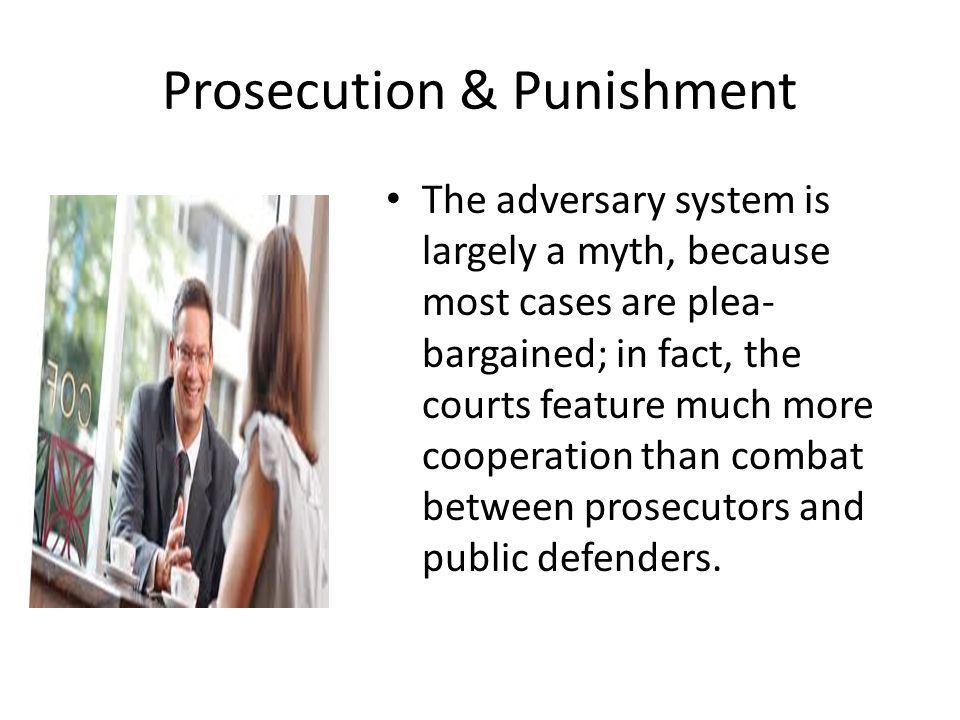 Prosecution & Punishment
