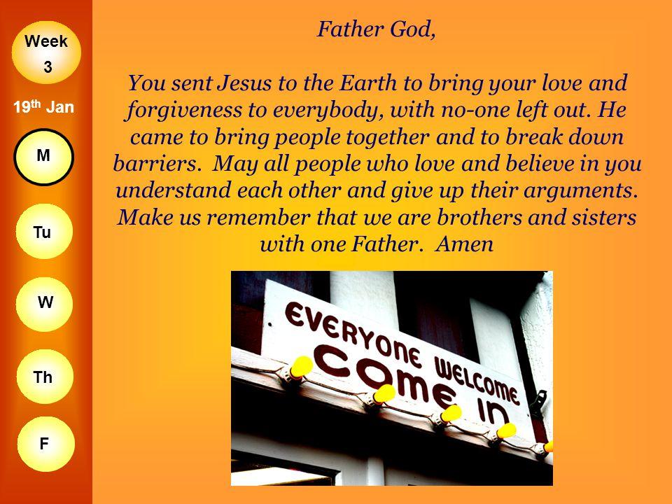 Father God,