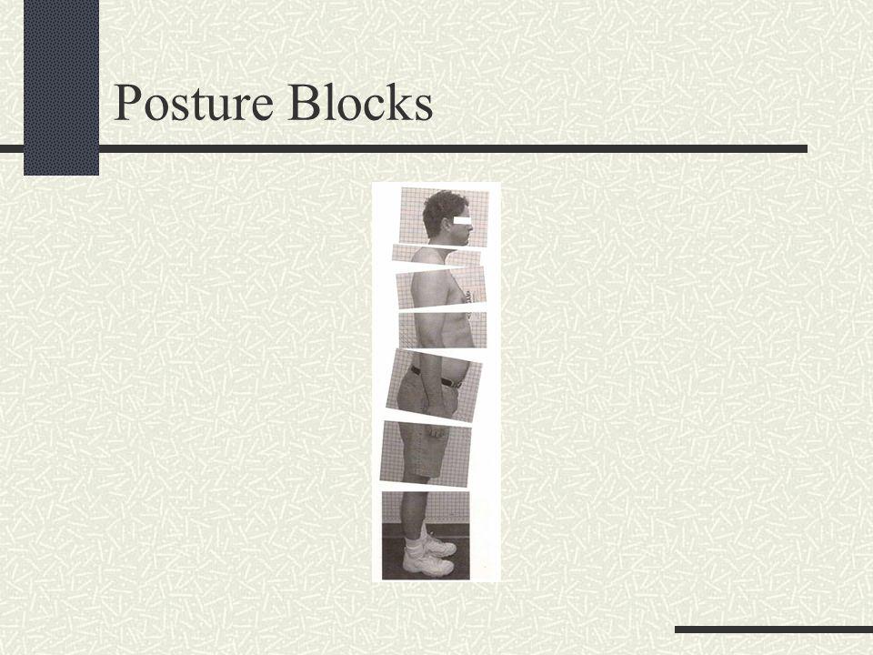 Posture Blocks