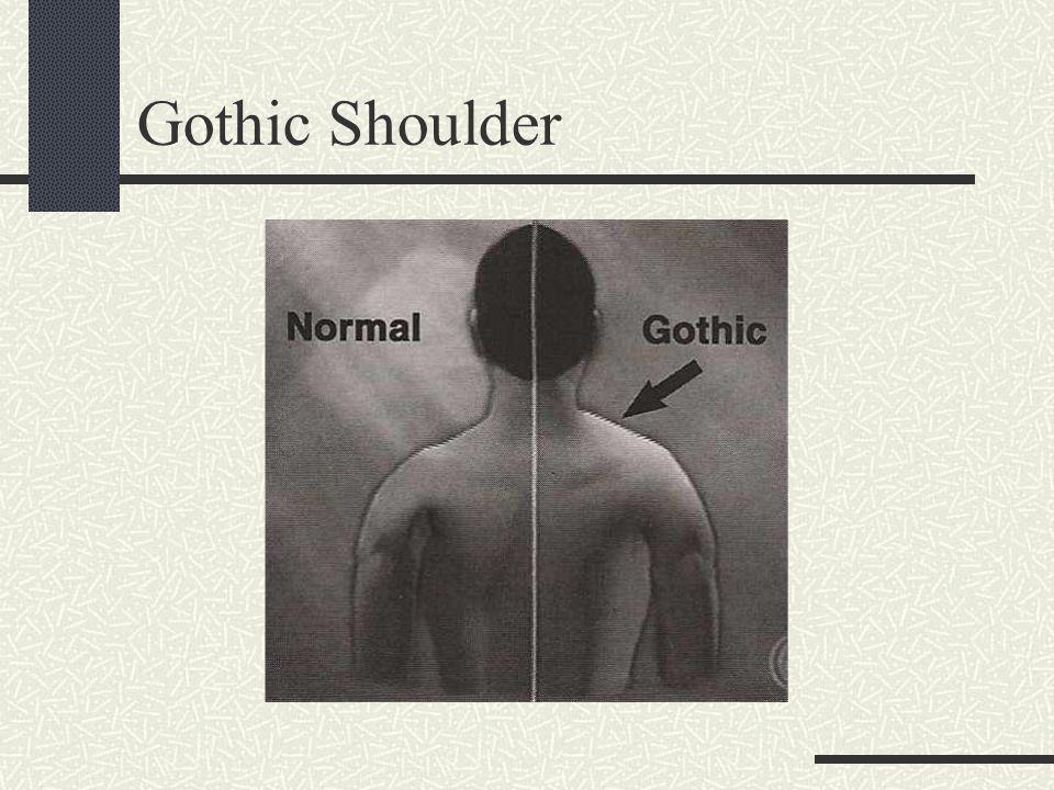 Gothic Shoulder