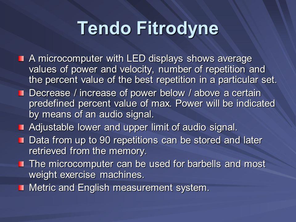 Tendo Fitrodyne