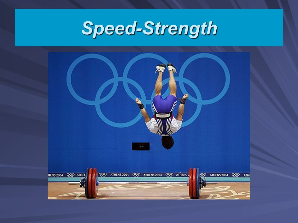 Speed-Strength