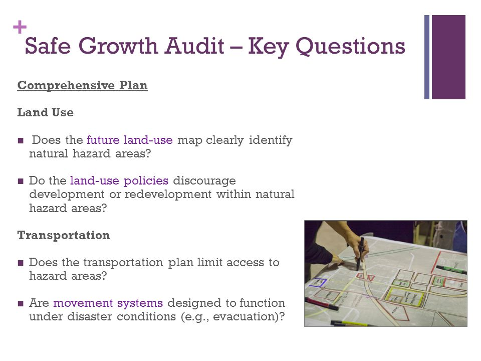 Safe Growth Audit – Key Questions