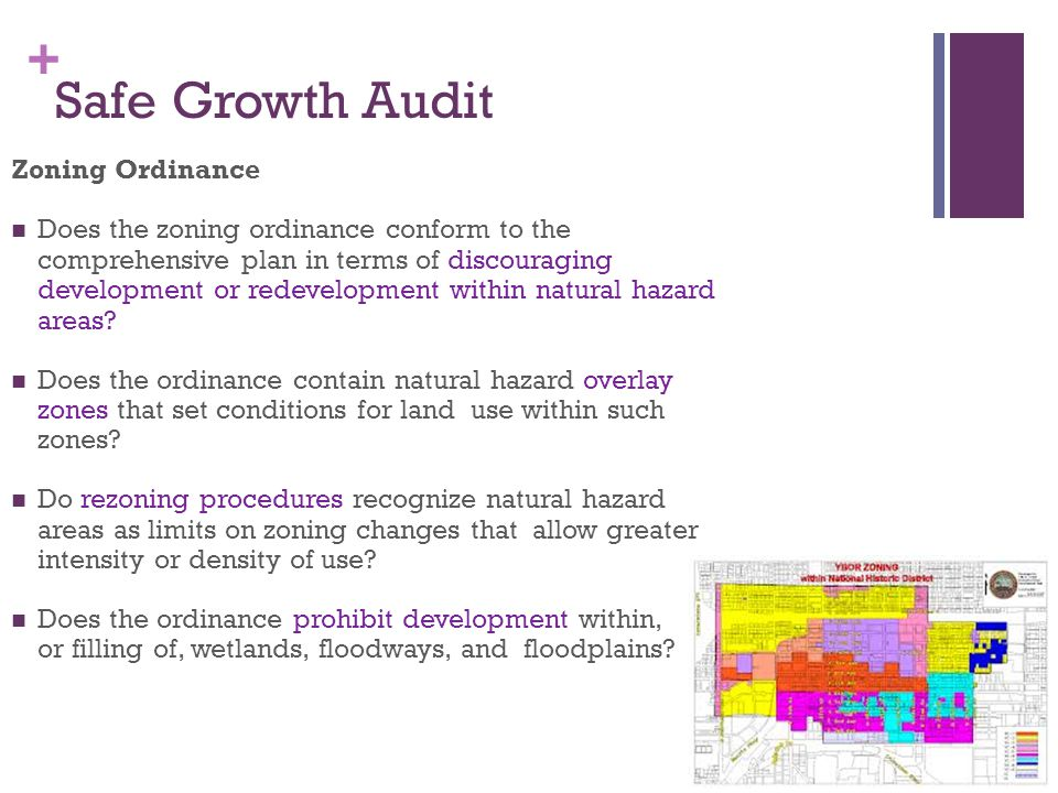 Safe Growth Audit Zoning Ordinance