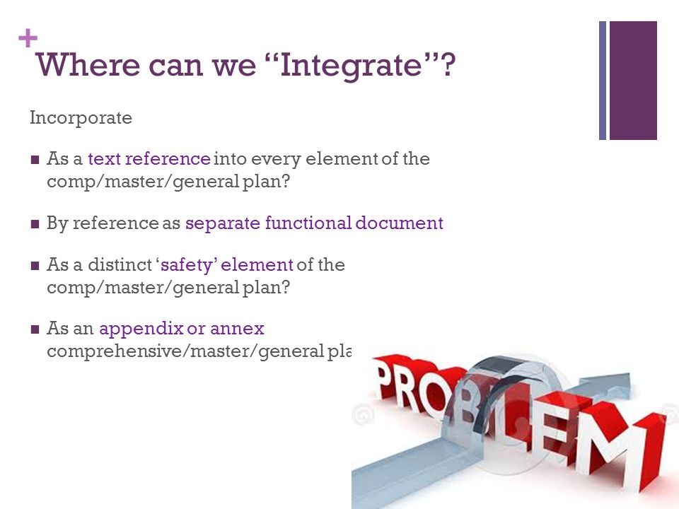 Where can we Integrate