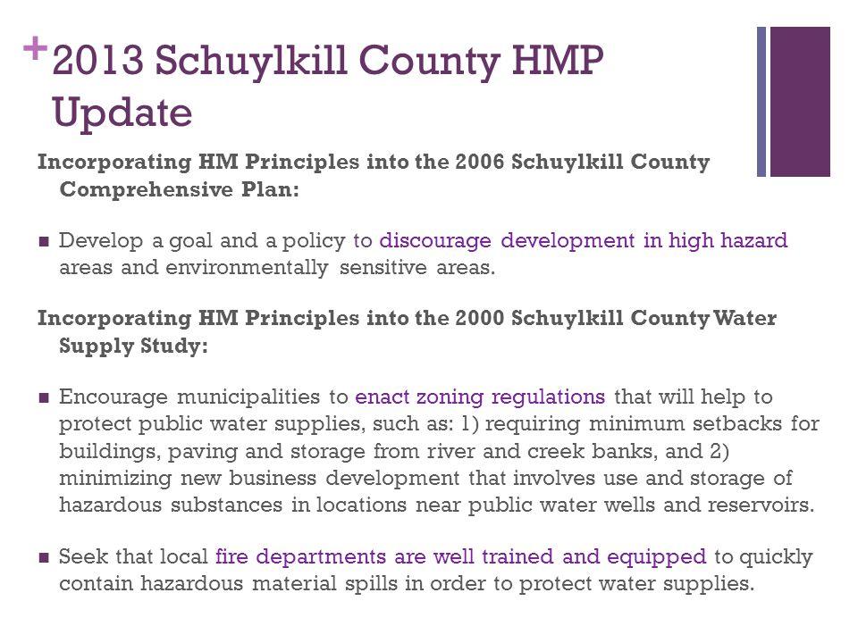2013 Schuylkill County HMP Update