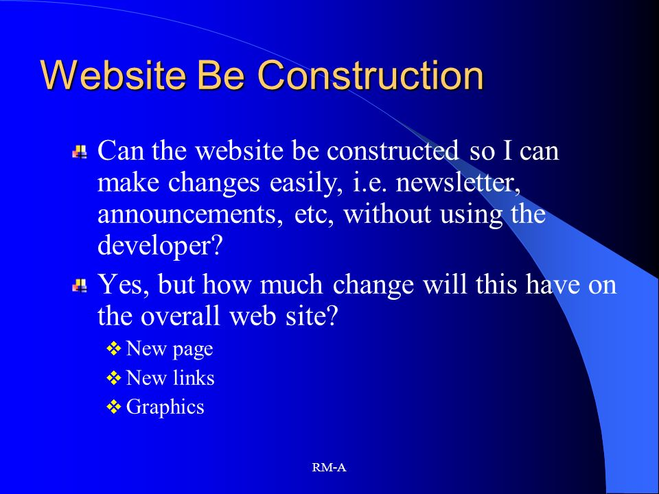 Website Be Construction