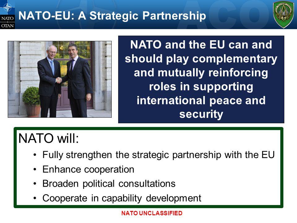 NATO-EU: A Strategic Partnership