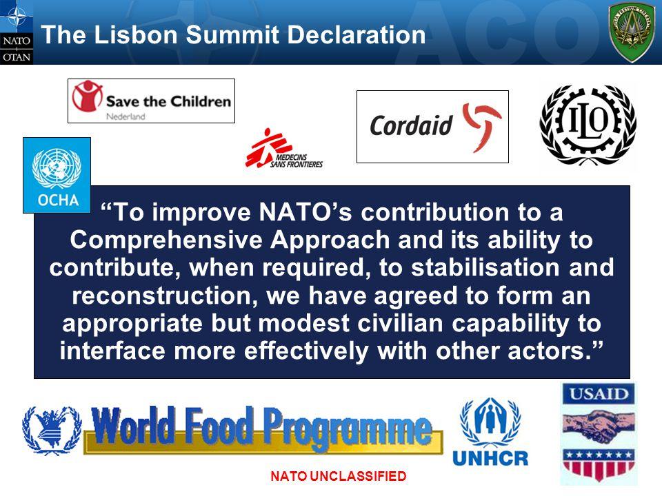 The Lisbon Summit Declaration