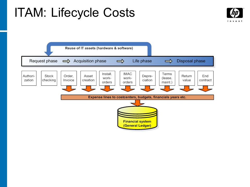 ITAM: Lifecycle Costs