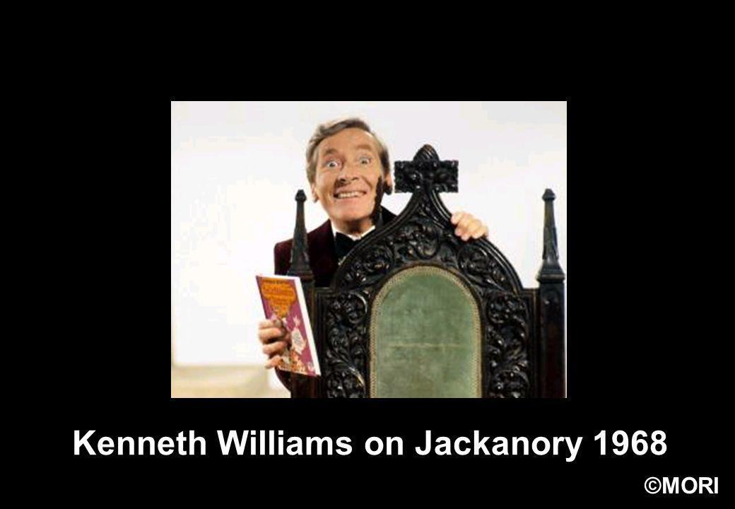 Kenneth Williams on Jackanory 1968