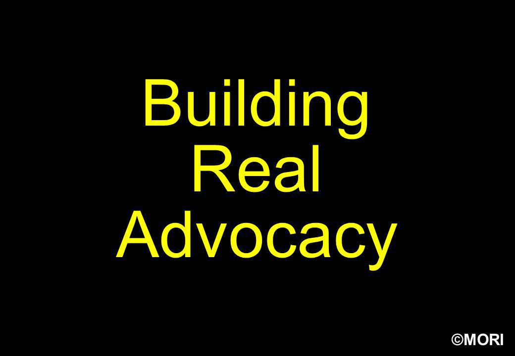 Building Real Advocacy