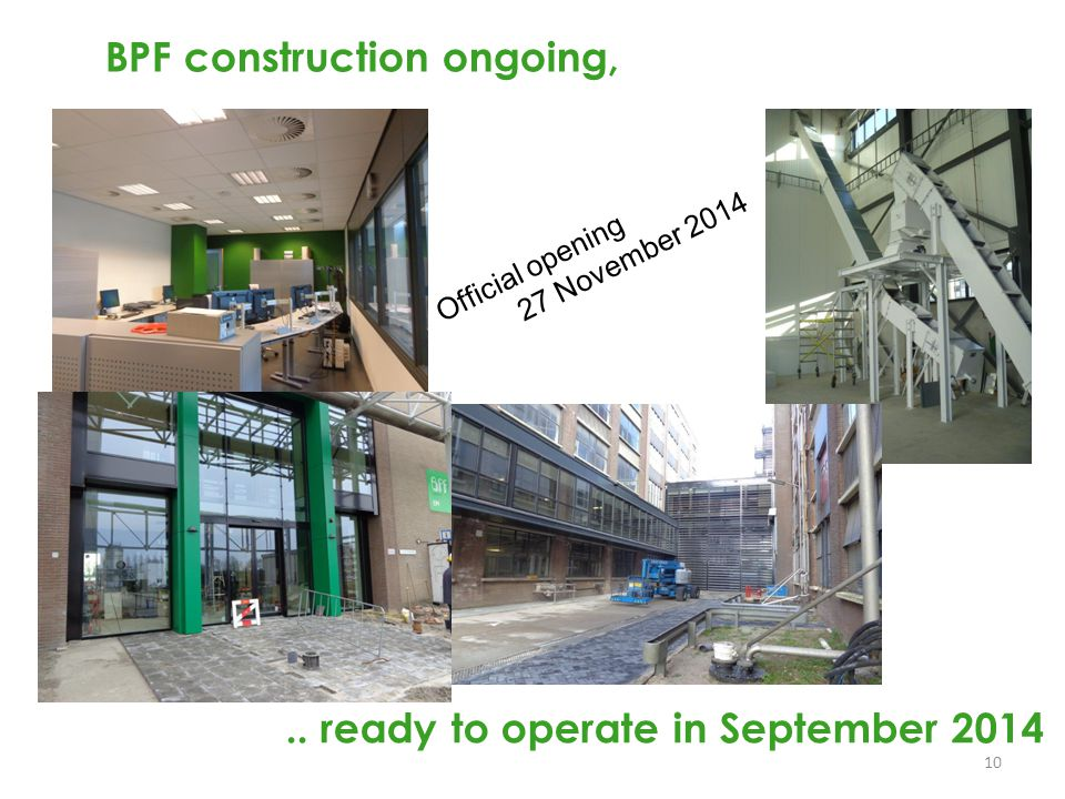 BPF construction ongoing,