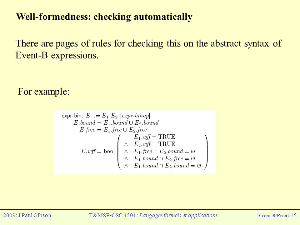 T&MSP-CSC 4504 : Langages formels et applications