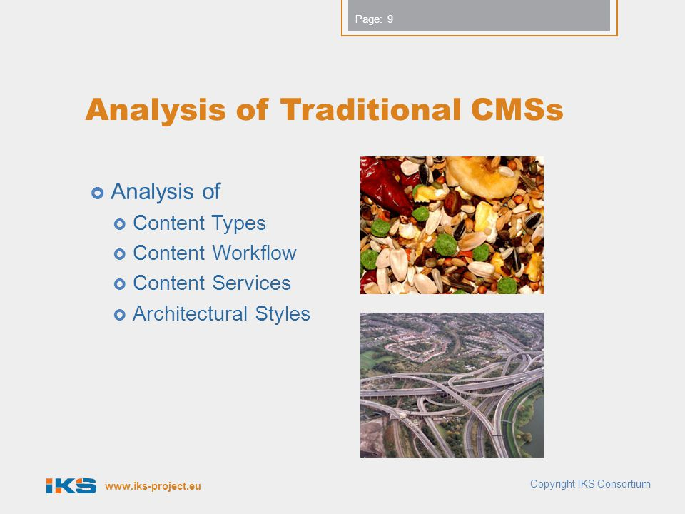 Analysis of Traditional CMSs