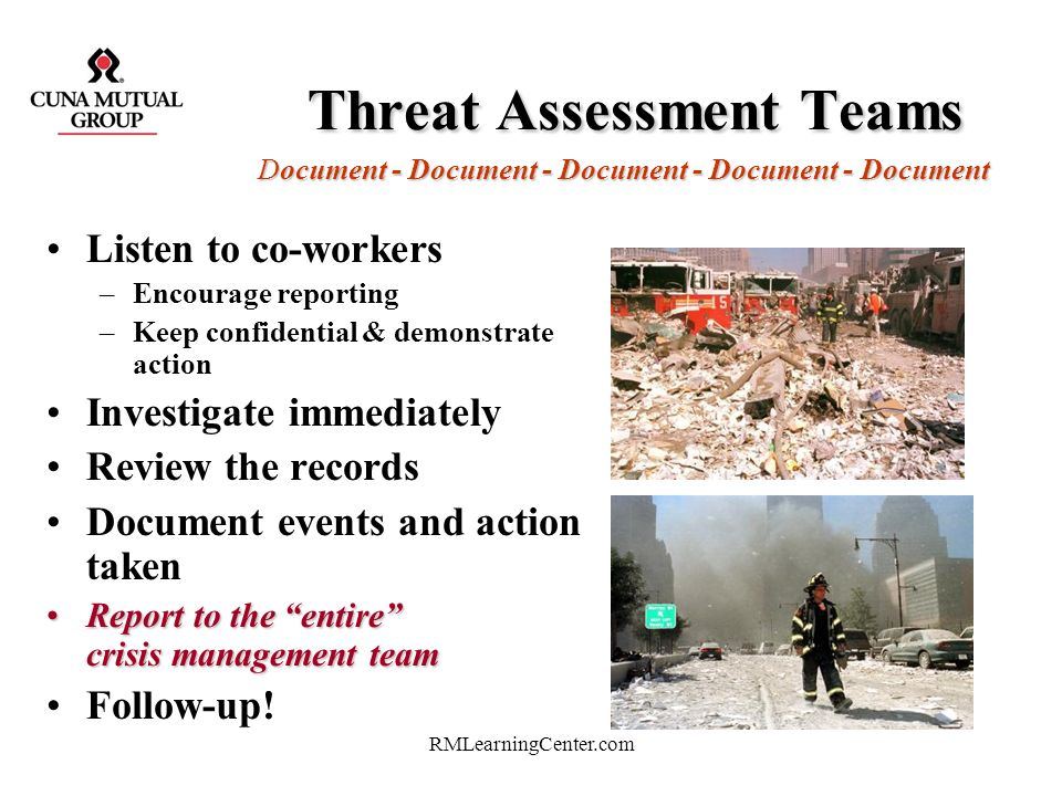 Threat Assessment Teams Document - Document - Document - Document - Document