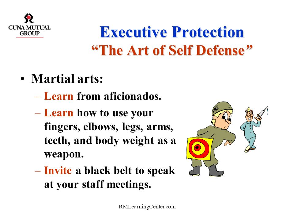 Executive Protection The Art of Self Defense