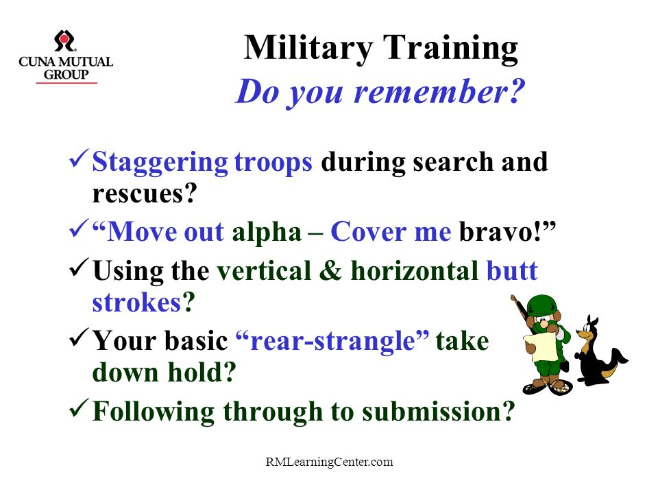 Military Training Do you remember