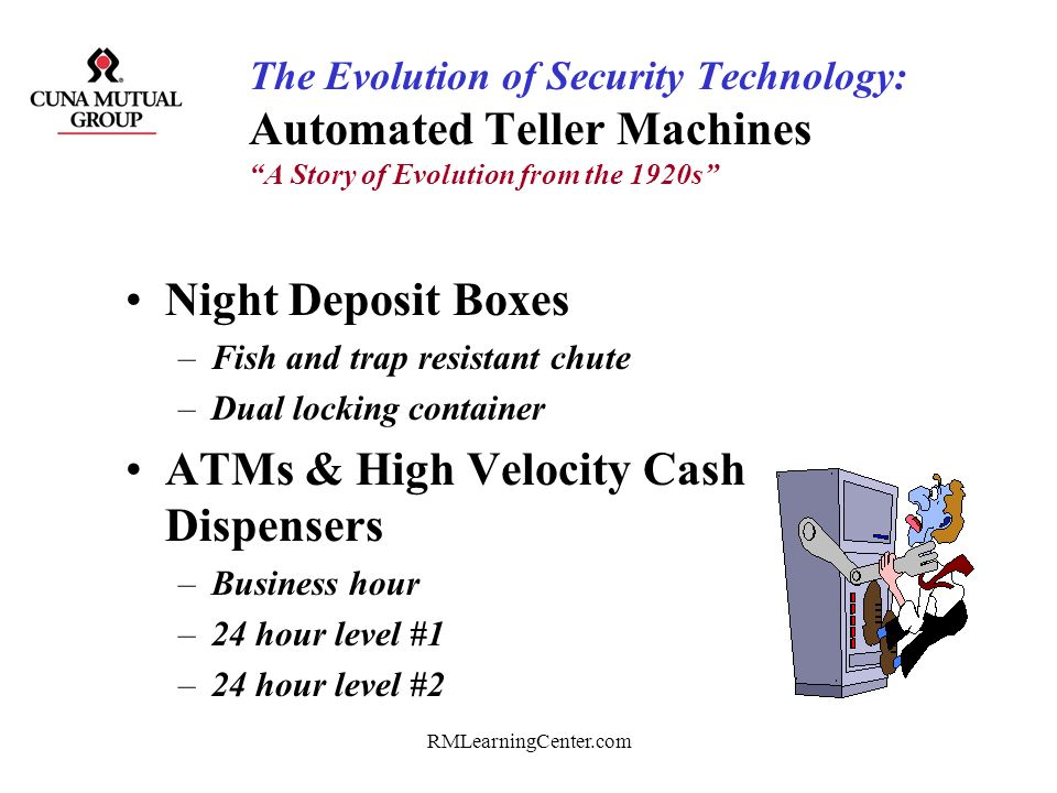 ATMs & High Velocity Cash Dispensers