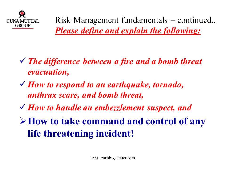 How to take command and control of any life threatening incident!