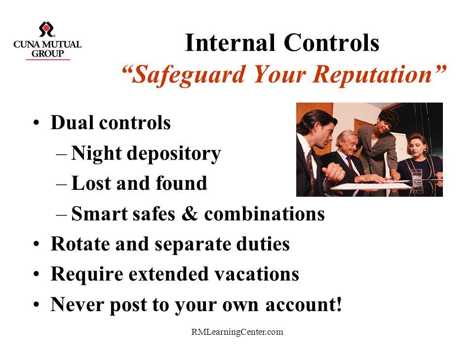Internal Controls Safeguard Your Reputation