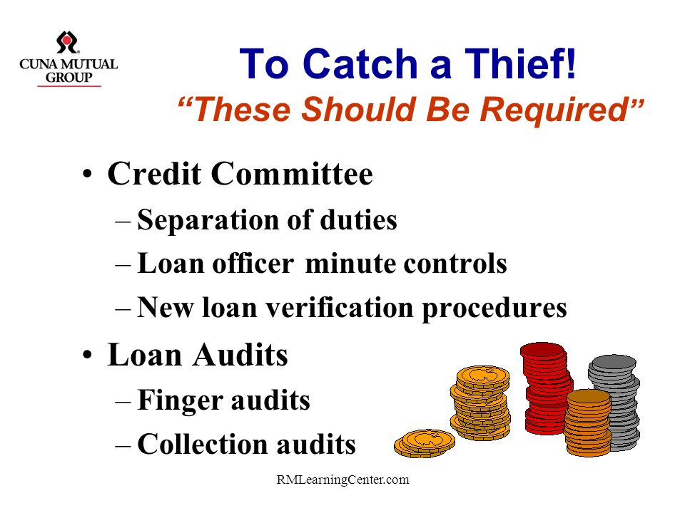To Catch a Thief! These Should Be Required