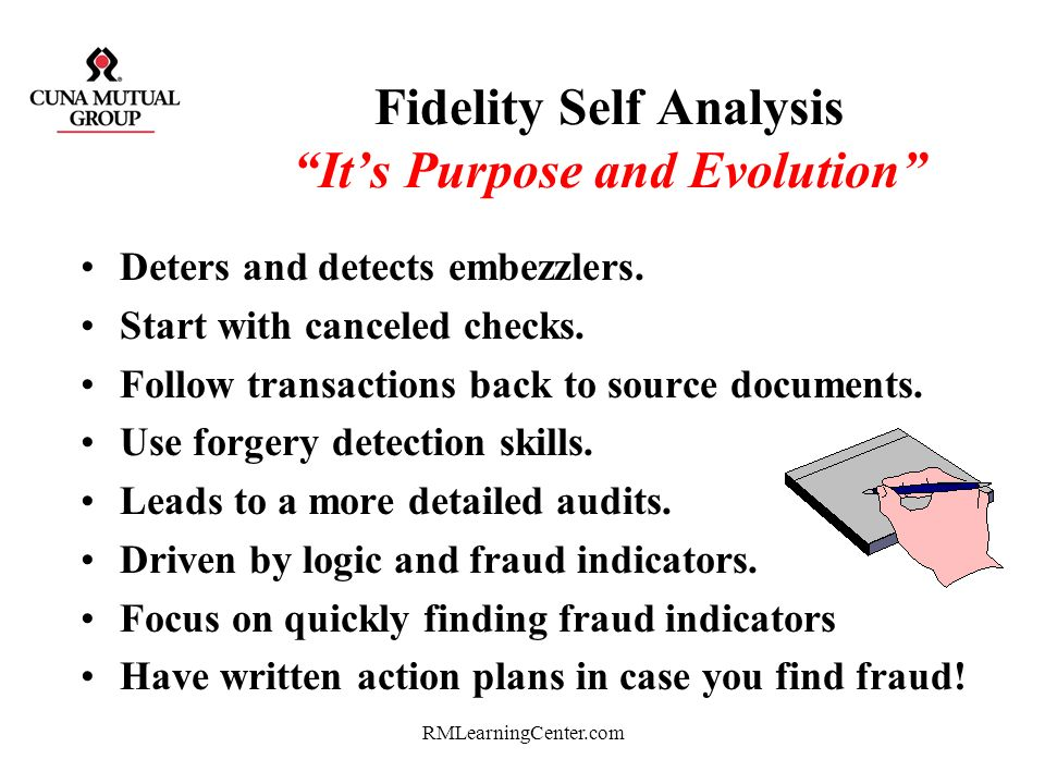 Fidelity Self Analysis It's Purpose and Evolution