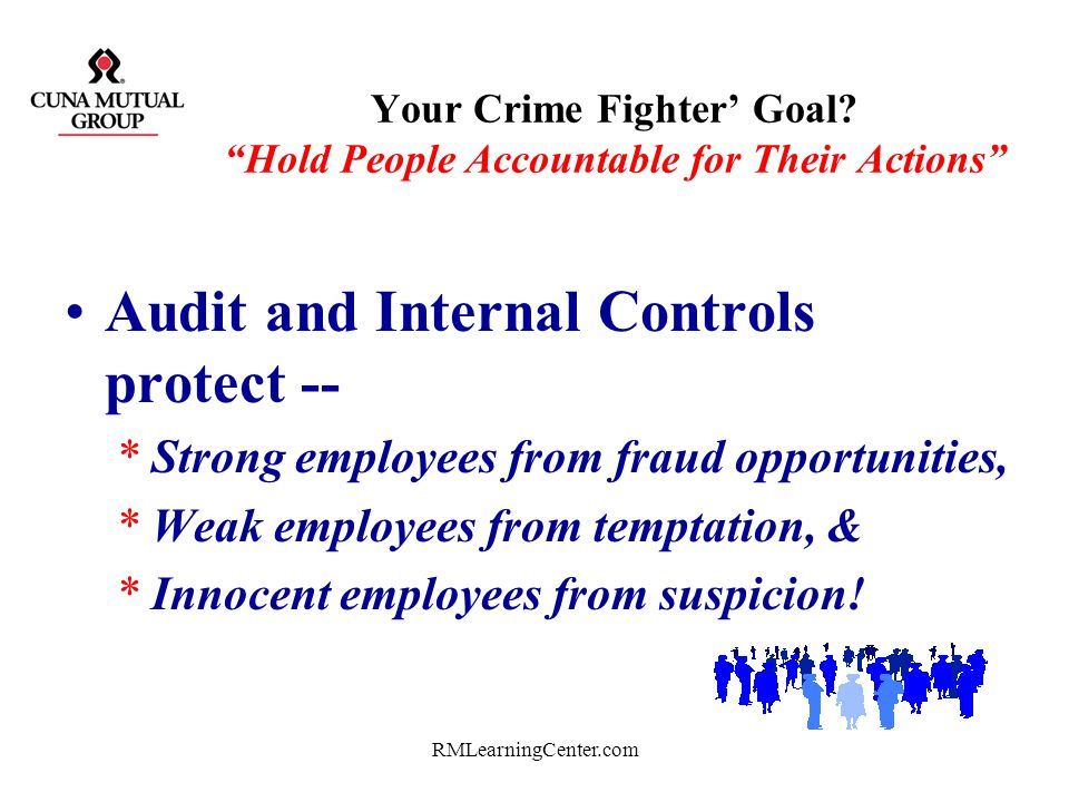 Your Crime Fighter' Goal Hold People Accountable for Their Actions