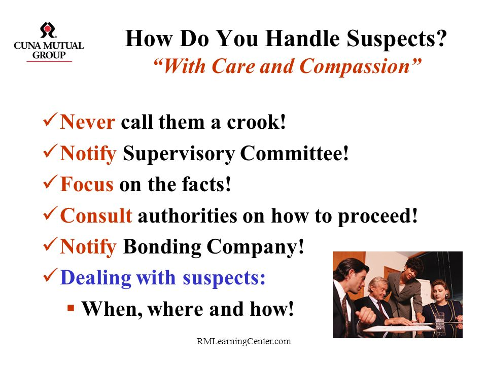 How Do You Handle Suspects With Care and Compassion