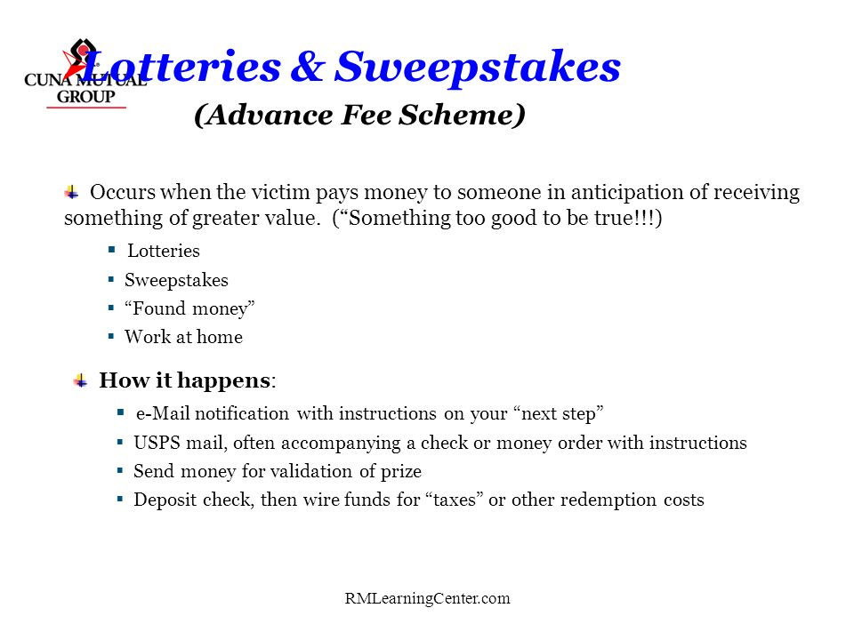Lotteries & Sweepstakes