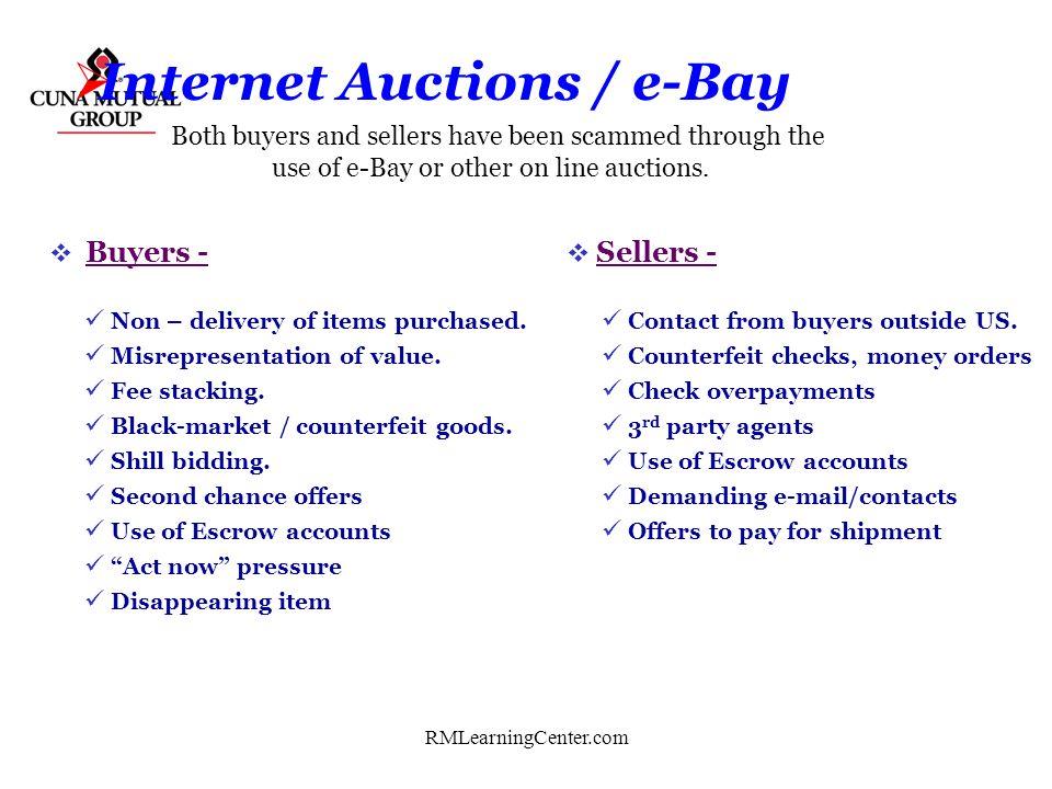 Internet Auctions / e-Bay