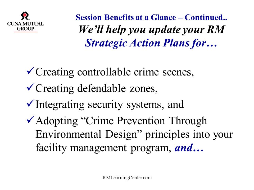 Creating controllable crime scenes, Creating defendable zones,