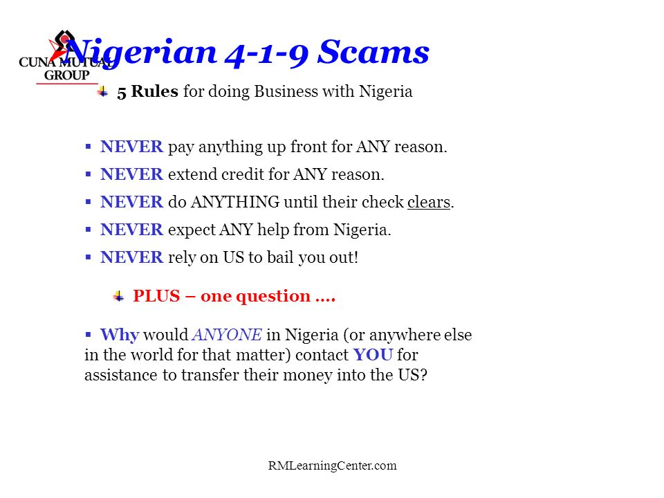 5 Rules for doing Business with Nigeria