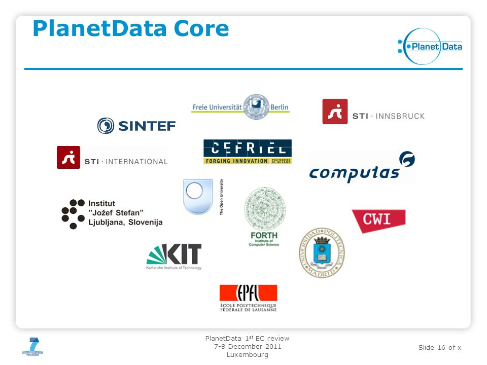 PlanetData Core