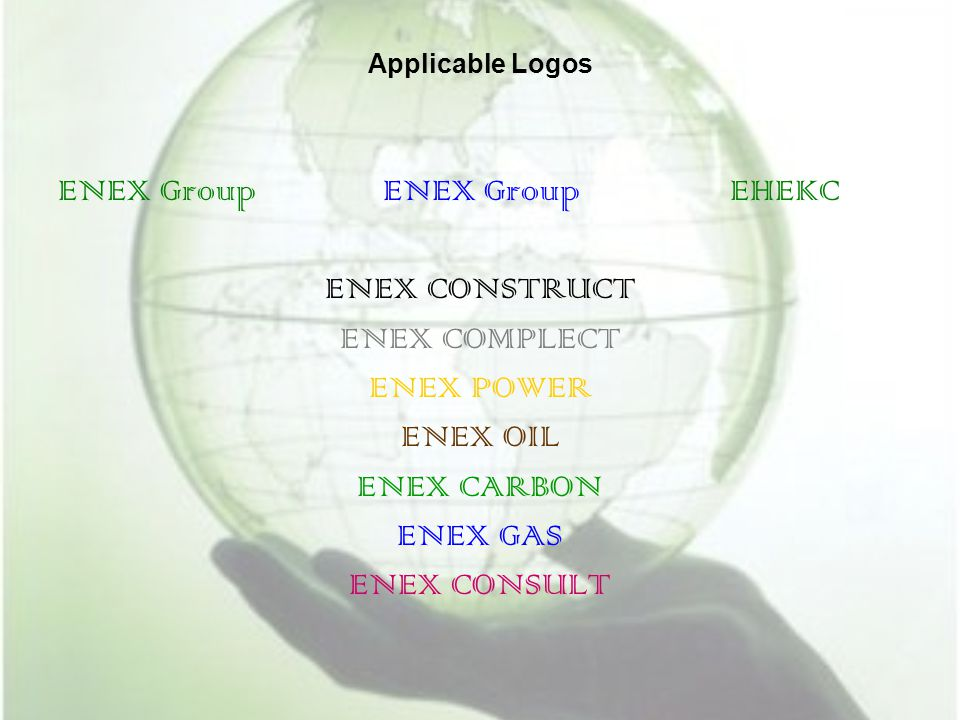 ENEX Group ENEX Group EHEKC ENEX CONSTRUCT ENEX COMPLECT ENEX POWER