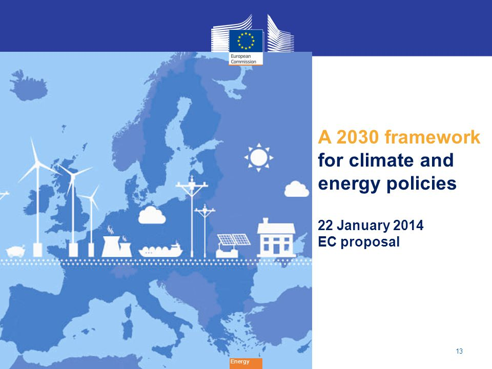 A 2030 framework for climate and energy policies